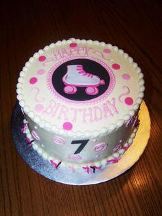 Roller Skate Birthday Cake