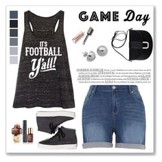 """Game Day"" by emeraldxlake05 ❤ liked on Polyvore featuring Melissa McCarthy Seven7, Sporteez, Keds, Estée Lauder, A.P.C. and Lord & Taylor"