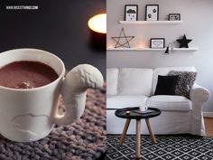 ... , Teppich House Doctor, Wohnzimmer Living Room, Stern aus Ästen DIY