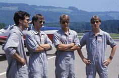 Gruppenbild der Schweizerischen Luftverkehrsschule (SLS) in Hausen am Albis. LBS_SR04-032703