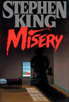 Misery. Annie is a crazy nummer one fan. I read the book and then saw the movie. Book was better but the movie was good too. 4 of 5