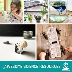 10+ Blog Resources for Ongoing Science Inspiration for Kids and Parents #Educational #KiwiCrate #Sponsored *Love this list