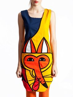 Mr Foxy Minidress, part of the JOYCE capsule collection by Yang Du