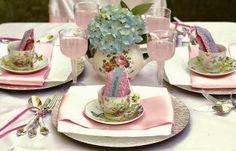 Beautiful Bridal: Tea Party Centerpiece Ideas