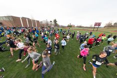 The 127th annual Bemis-Forslund Pie Race attracts hundreds of NMH community and alumni runners on the 4.3-mile course which traverses campus and local roads and forest trails.  It's one of the country's oldest foot rates. Photography by Glenn Minshall.