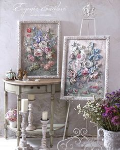 Catalog of works by Evgenia Ermilova Plaster Crafts, Plaster Art, Clay Crafts, Diy And Crafts, Plaster Sculpture, Sculpture Painting, Wall Sculptures, Free To Use Images, Texture Painting