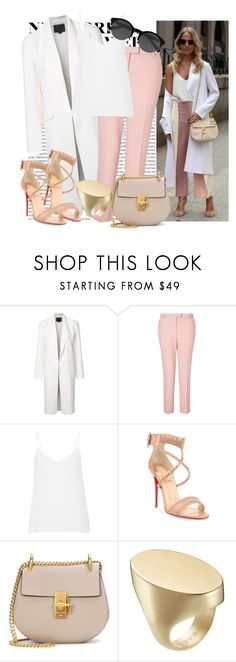 """""""566. New York Fashion Week"""" by slovak-queen1997 ❤ liked on Polyvore featuring Alexander Wang, Miss Selfridge, Equipment, Christian Louboutin, Chloé, Maison Margiela and EyeBuyDirect.com"""