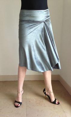 Glittery BellaPivot elegant tango skirt or dress up par BellaPivot, €75.00