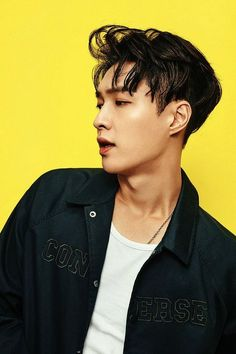 Zhang Yixing (张艺兴), who is better known as Lay (레이) and a member of the boy group EXO (엑소).