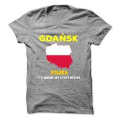 Gdansk, Polska-ujabo T Shirt, Hoodie, Sweatshirts - custom t shirt #tee #T-Shirts