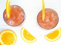 Orange Pomegranate Moscato Cocktail | 12 Orange Juice Cocktails Perfect For A Citrusy Summer