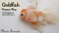 Polymer Clay Red Cap Oranda Goldfish Tutorial | Maive Ferrando