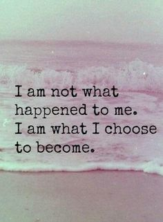 Just because I am in this situation right now does not mean it will change who I am you will never change me you are not worth changing or compromising myself for
