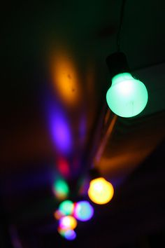 Party lights. Made with a Canon 1000D