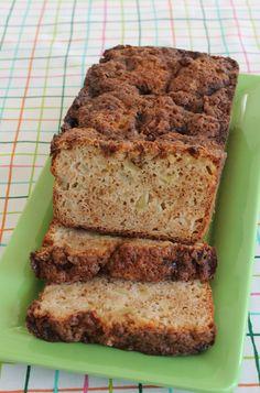 Food Lust People Love: Apple Crumb Quick Bread #BreadBakers