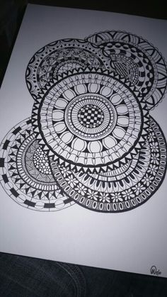 #zentangle #doodle #circles