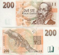 Gallery of Czechian Banknotes