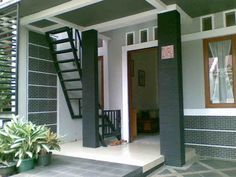√ 18 contoh model desain tangga rumah minimalis modern sederhana