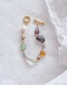 いろいろな天然石のブレスレット #Irisの画像3枚目