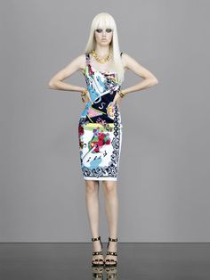 Women's fashion and accessories - SS 2013 - Main collection - Versace 2013