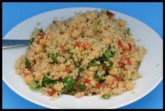 Quinoa Chick Pea Salad