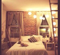 Beautiful bedroom, love..
