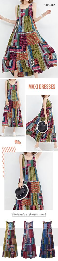 Shop best vintage dresses outfits at online store. All vintage style dresses are available for different occasions. Boho Outfits, Dress Outfits, Fashion Outfits, Boho Fashion, Vintage Fashion, Womens Fashion, Vintage Style Dresses, Sewing Clothes, Clothing Patterns