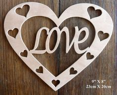 Beautiful Large Sized Hand Crafted MDF 'Love Heart' Drawing Template / Stencil - 9 by Greg Ledder http://www.amazon.co.uk/dp/B00KD3AKOK/ref=cm_sw_r_pi_dp_xFFjvb1H8DYYZ