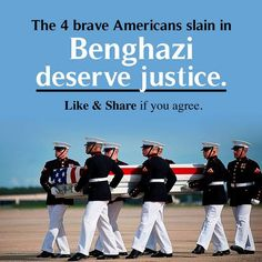 HILLARY CLINTON IS RESPONSIBLE FOR THE DEATHS OF OUR HEROES IN BENGHAZI, SHE SHOULD BE HELD ACCOUNTABLE