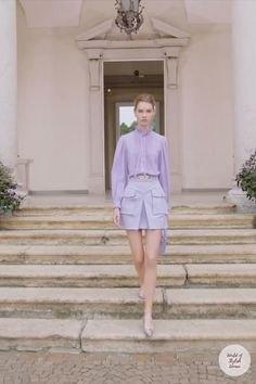 Spring Summer 2021 Ready-to-Wear Collection. Runway Show by Elisabetta Franchi. Couture Fashion, Runway Fashion, Fashion Show, Womens Fashion, Fashion Design, Indian Party Wear, Indian Wear, Summer Fashion Trends, Spring Summer Fashion