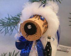 WINE CHRISTMAS ORNAMENT Winedeer ™ Very Merry by WineToTheNines