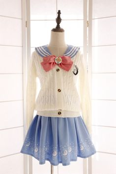 Sailor Moon Lolita school uniform