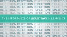 The Importance of Repetition in Learning