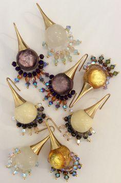 Maracuya-Earrings #earrings by Mimi Scholer