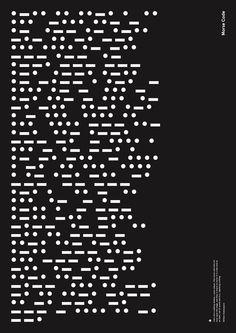 Morse Code - Poster - 2014