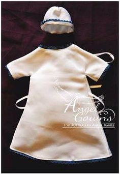 Angel Gowns for Australian Angel Babies  #AngelGownsAust http://angelgowns.org.au/ (To donate or request a gown) An organisation converting donated wedding dresses into gowns for babies who are taken too soon. In Australia! https://www.facebook.com/angelgownsforaustralianbabies  I made this!