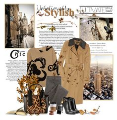 """Street chic"" by milagros93thebest ❤ liked on Polyvore featuring Marc Jacobs, DKNY, Burberry, Pierre Hardy and Tom Ford"