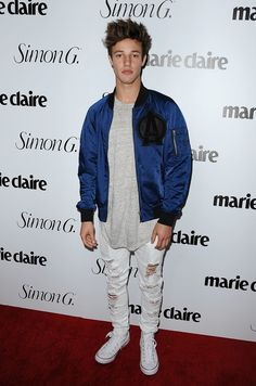 The Style Evolution of Cameron Dallas: From Vine star to Calvin Klein model.