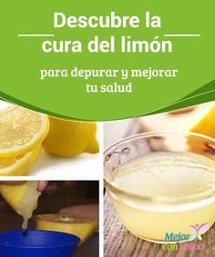 Descubre la cura del limón para depurar y mejorar tu salud Si bien el limón es ácido, al entrar en nuestro cuerpo se transforma en alcalino, por lo que nos ayuda a neutralizar la acidez de otros alimentos