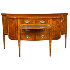 Eliza Sweet Wedding Sideboard, Newport, 1804 | From a unique collection of antique and modern sideboards at https://www.1stdibs.com/furniture/storage-case-pieces/sideboards/