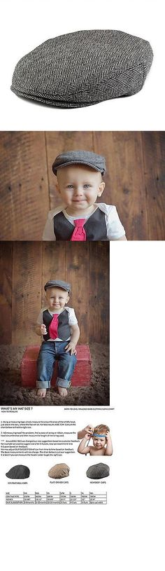 Hats 163224: Born To Love Boys Tweed Page Boy Newsboy Baby Kids Driver Cap-Xs12-18 Months 48 -> BUY IT NOW ONLY: $43.83 on eBay!
