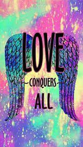 Liebe besiegt alles - Gallaxy Art