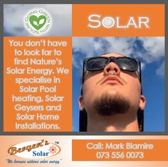 We specialise in Solar Pool Heating, Solar Geysers and Solar Home Installations. We are in your area.    #poweredbysolar #solarpower #bergens #solar #solarsolution #southafrica #power #solarpoolheating #solarwaterheating #bergenssolar #gogreen #weharnessnaturessolarenergy #loadshedding #southafrica #quote  Call Mark for a Quote Phone:  073 556 0073 Email:  mark@bergens.co.za