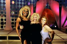 RuPaul and Anna Nicole Smith were good friends. Unfortunately, footage of her time on the show is super rare.
