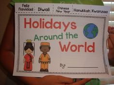 This informational text and reading strategies unit includes differentiated reading passages for Las Posadas, Diwali, Chinese New Year, Hanukkah, and Kwanzaa. Also includes maps, diagrams, instructions, recipes, and more! You will also find a cute flip book  for students to summarize and synthesize their learning. $