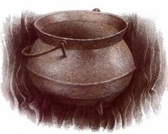 marmitte pour les cuisiniers, d'ou sortirait une lumiere