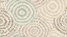 Spirea (60410) - Harlequin Wallpapers - A spiky starburst design enhanced with the use of glossy inks and subtle colour combinations. Shown here in the silver grey and  aqua blue on cream. Wide width roll. Available in other colours. Please request sample for true colour match.