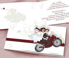 einladungskarten-hochzeit-guenstig-rot-motorrad-kreativ
