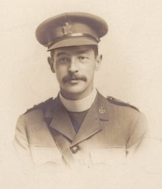 Chaplain Peter George Smith, 9th Cameronians - Scottish Rifles, KIA. WWI
