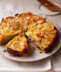 Butternut Squash and Kale Torte